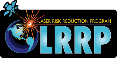 Image shows LRRP logo which is the text LRRP and a laser burst